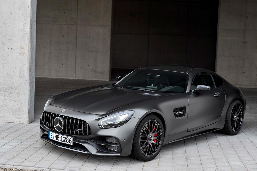 Новый Mercedes-AMG GT C