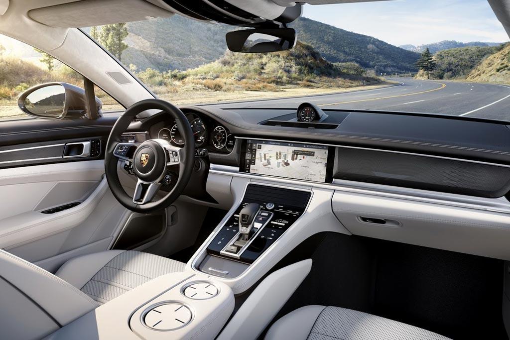 Салон Porsche Panamera 2
