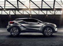 Франкфуртский концепт Toyota CH-R