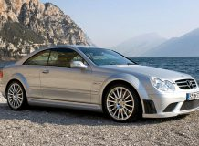 Mercedes-Benz CLK63 AMG Black Series фото