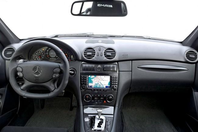 Салон Мерседес CLK 63 AMG Black Series