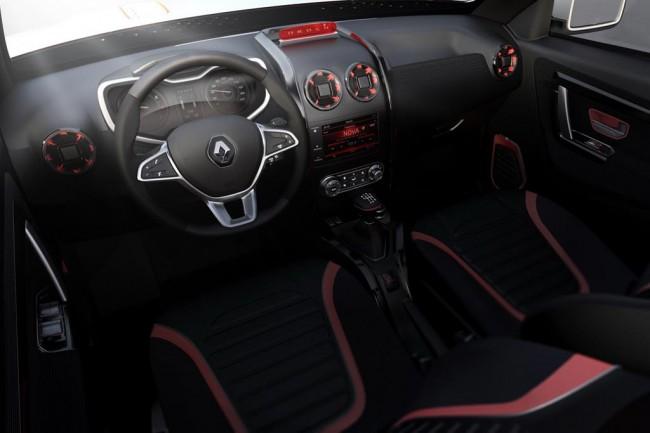 Салон Renault Oroch