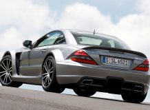 Mercedes-Benz SL65 AMG Black Series фото