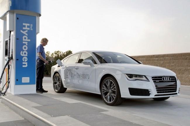 Водородная Audi A7 Sportback H-Tron