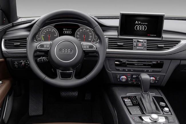Салон Audi A7 Sportback H-Tron