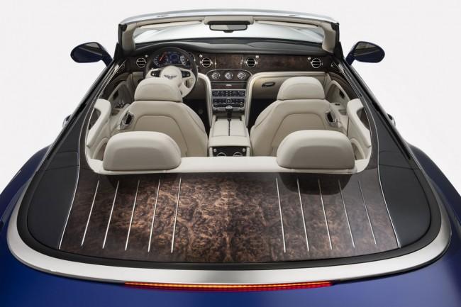 Интерьер кабриолета Bentley Grand Convertible