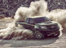Фото нового Chevrolet Colorado ZR2