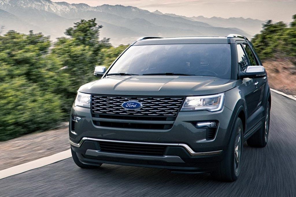 Обновленный Ford Explorer 2018 года