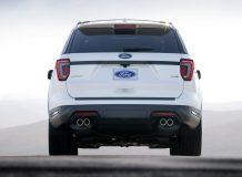 Ford Explorer Platinum 2018 фото