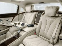 Интерьер Mercedes-Maybach S-Class фото
