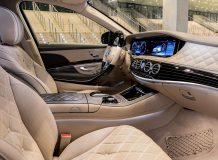 Салон Mercedes-Maybach S X222 фото