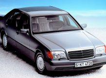 Мерседес W140 фото