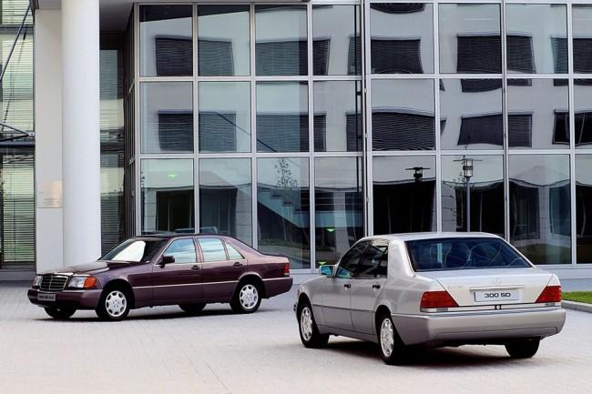 Мерседес S в кузове W140