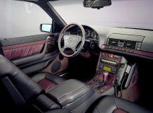 Салон Мерседес W140