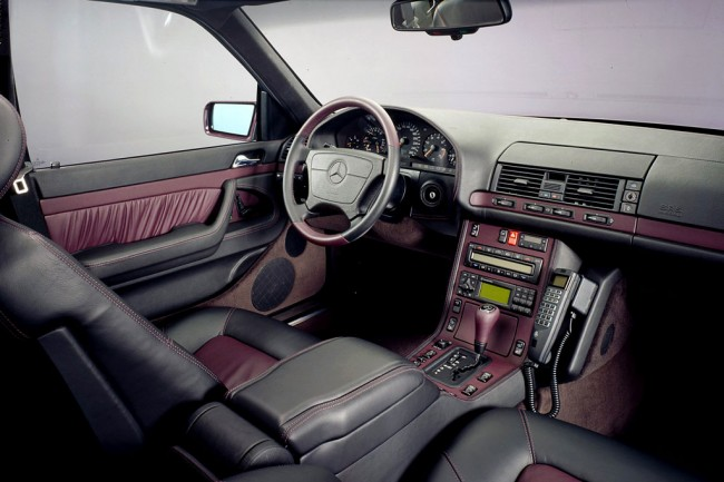 Салон Mercedes S-Class W140