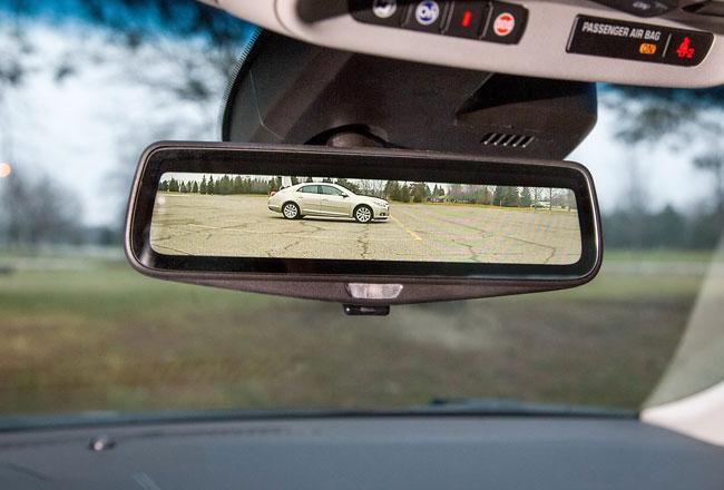 Видеозеркало для Cadillac CT6