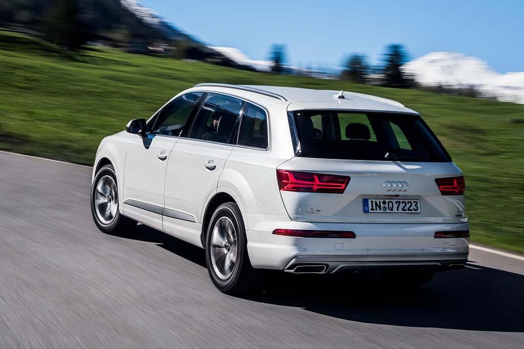 Audi Q7 2018 года