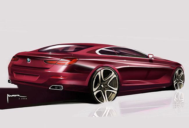Рендер будущей BMW 6 G15