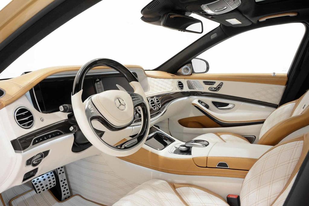 Салон S63 AMG от ателье Brabus