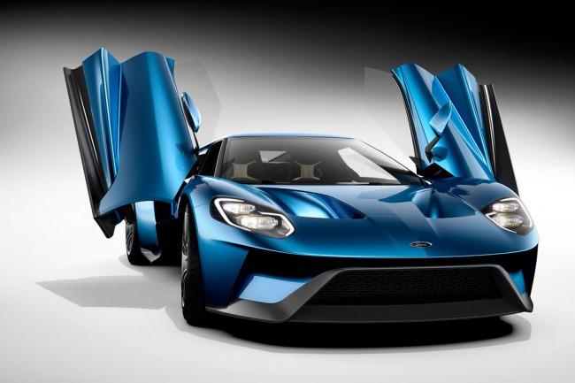 Форд GT в новом кузове