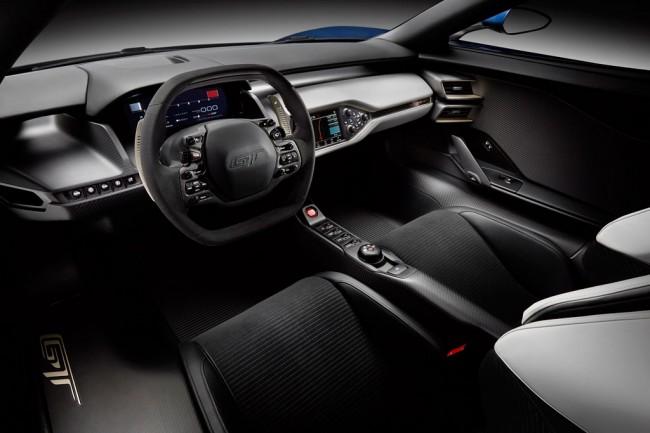 Салон Форд GT 2