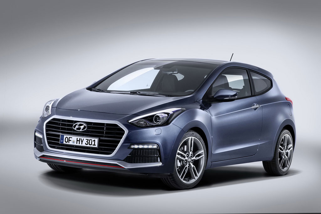 Фото нового Hyundai i30 Turbo 2015