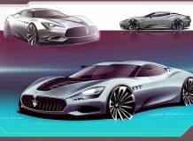 Рендер Maserati GranTurismo II