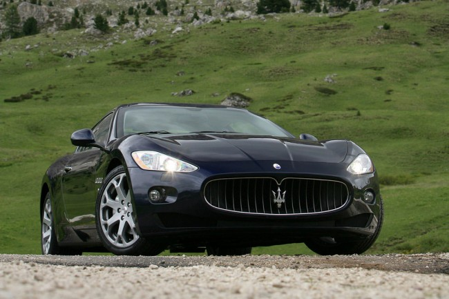 Спортивное купе Maserati GranTurismo
