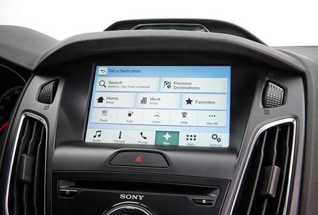 Мультимедийная система Ford SYNC 3