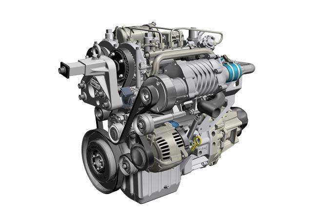 Новый 2-цилиндровый дизельный мотор Reanult