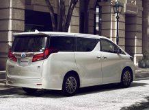 Фото Toyota Alphard 2018 в новом кузове