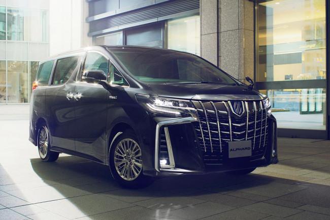 Новая модель Тойота Альфард 2019