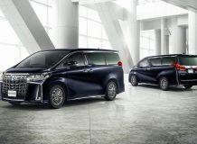 Toyota Alphard 2018 рестайлинг