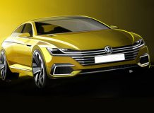 Тизер нового Volkswagen CC II
