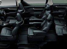 Интерьер Toyota Vellfire (2015-2016)
