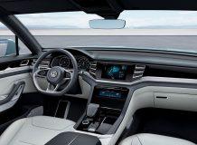 Фото салона Volkswagen Cross Coupe GTE