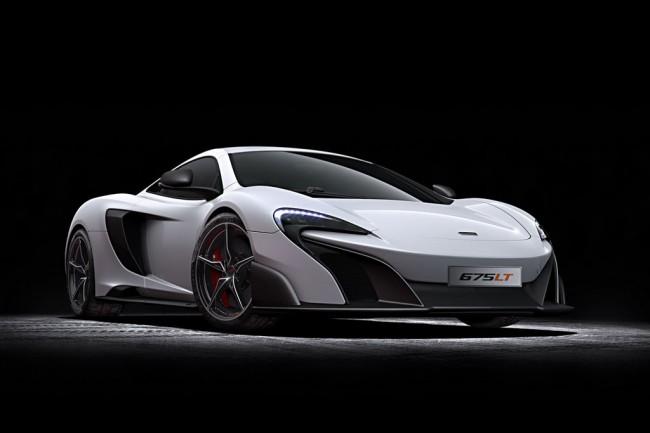 Суперкар McLaren 675 LT