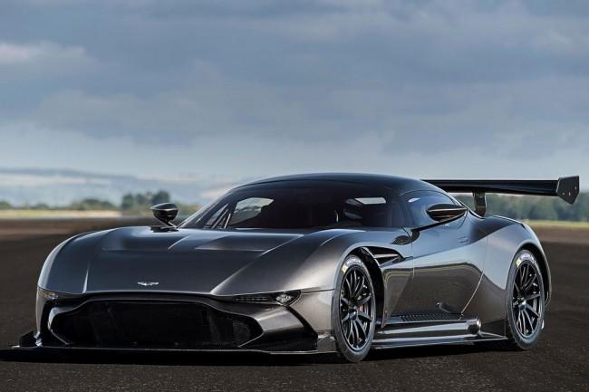 Трековый суперкар Aston Martin Vulcan