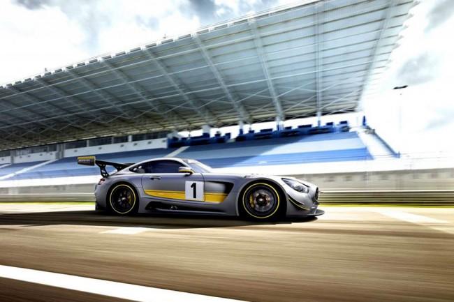 Гоночный Mercedes-AMG GT3