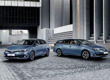 Обновленные Toyota Auris 2016
