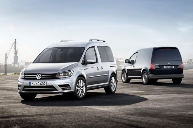 Новый Volkswagen Caddy IV