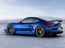 Porsche Cayman GT4 фото
