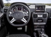 Фото салона Mercedes-Benz G500 4x4