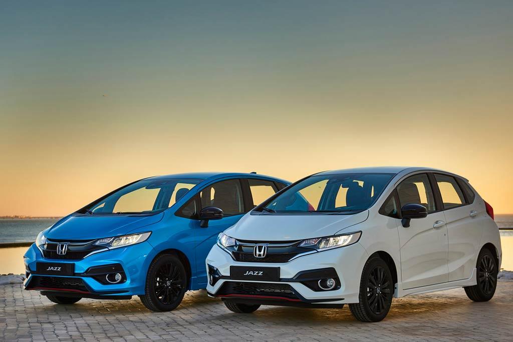 Обновленная Honda Jazz 2018 года