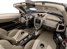 Фото салона Pagani Huayra Roadster