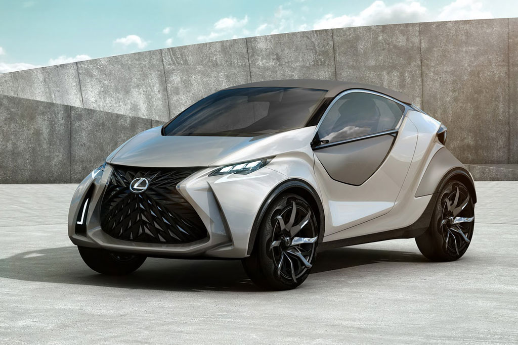 Lexus LF-SA Concept фото