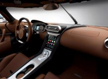 Фото салона Koenigsegg Regera