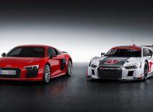 Фото гоночной Audi R8 II LMS