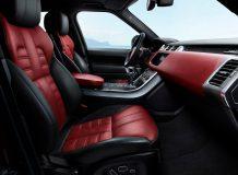 Фото салона Range Rover Sport HST