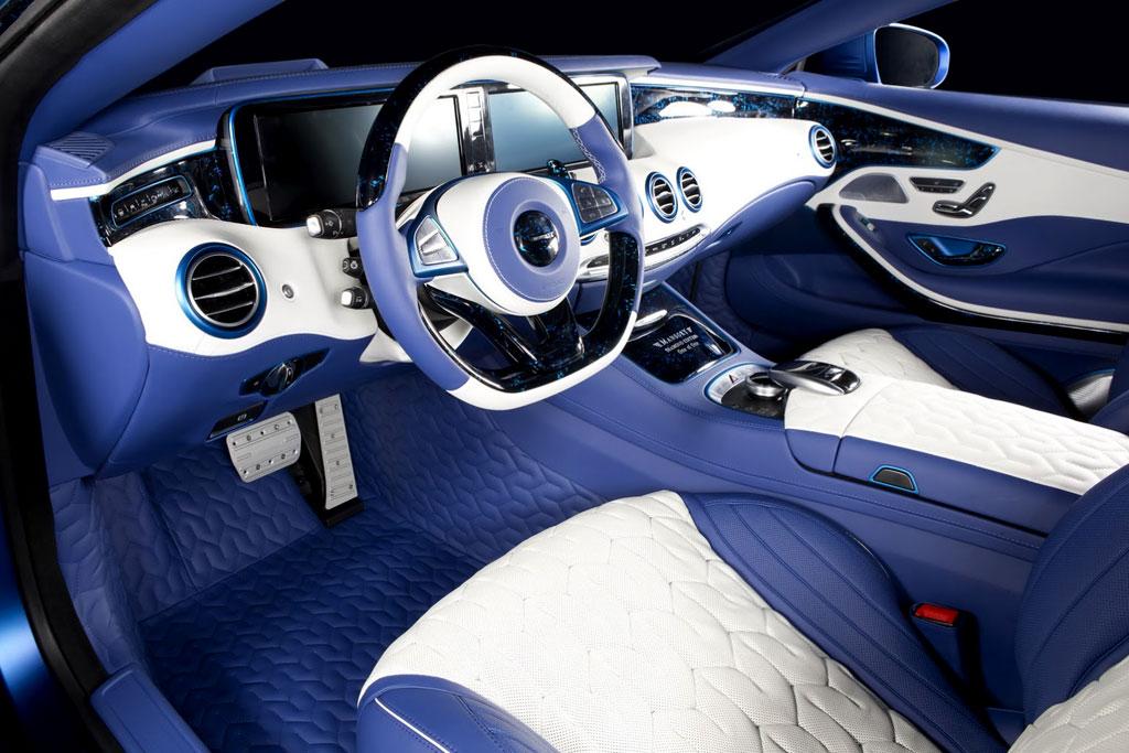 Тюнинг салона S63 AMG Coupe от Мансори